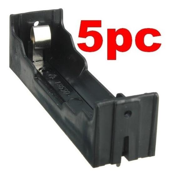 5pc Suporte Bateria 18650 Litio Li-ion 3.7v Pcb Pth Placa