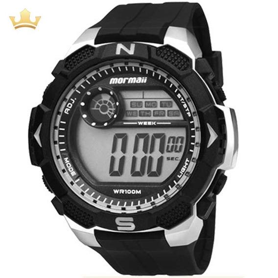 Relógio Mormaii Masculino Mo2909a/8c Com Nf
