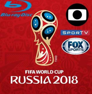 Copa Do Mundo 2018 Todos Os Jogos Completos Dvd (65 Dvd)