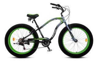 Bicicleta Fat Bike Aurora Bacota 2018 Shimano + Regalo