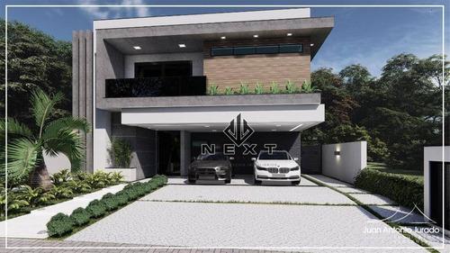 Casa Com 4 Dormitórios À Venda, 419 M² Por R$ 4.500.000,00 - Tamboré 11 - Santana De Parnaíba/sp - Ca0581