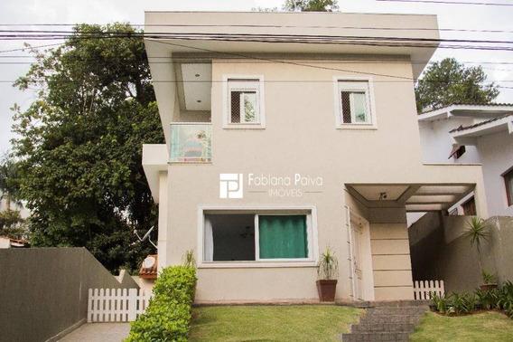 Casa Com 4 Dormitórios À Venda, 210 M² Por R$ 850.000 - Condomínio Arujazinho Iv - Arujá/sp - Ca0094