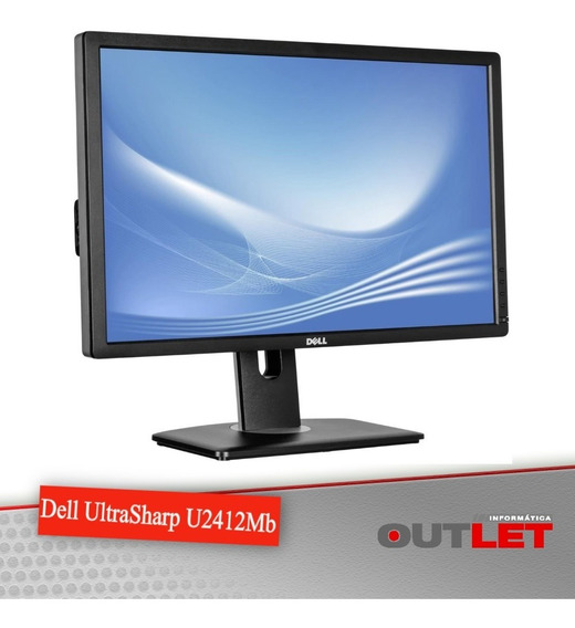 Monitor Dell Ultrasharp U2412mb 24 Pol Full Hd 1920x1200