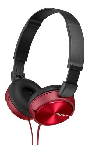 Sony - Auriculares Plegables Mdr-zx310 R, Rojo