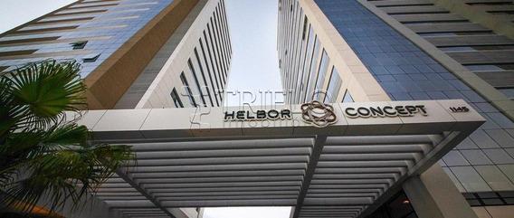 Linda Sala Comercial No Helbor Concept, Pronta Para Montar Sua Empresa, Com 154m², - L-2890