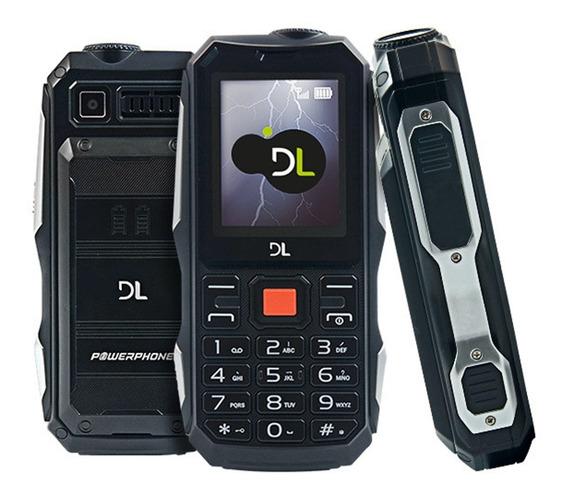 Powerphone Celular Dl Super Bateria C/ Lanterna E Power Bank