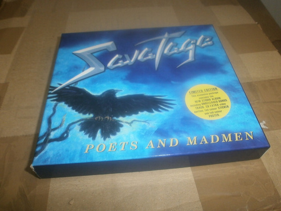 Savatage Poets & Madmen Cd Box Set
