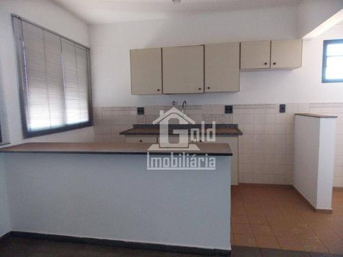 Imagem 1 de 9 de Apartamento Com 1 Dormitório Para Alugar, 45 M² Por R$ 670/mês - Centro - Ribeirão Preto/sp - Ap4627