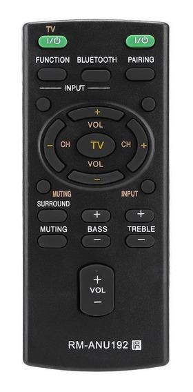 Substituição Rm-anu192 Controle Remoto Para Sony Sound Bar S