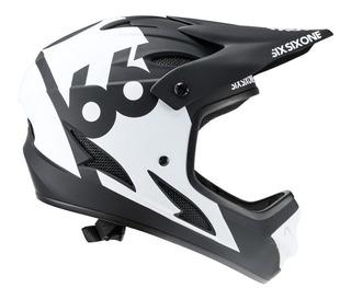 Casco Integral Bicicleta Sixsixone Comp Rental Blanco Bamo