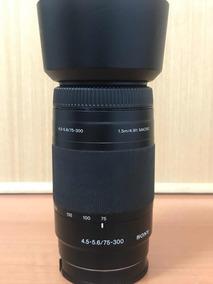 Lente Sony A-mount 75x300mm (f4.5/5.6)