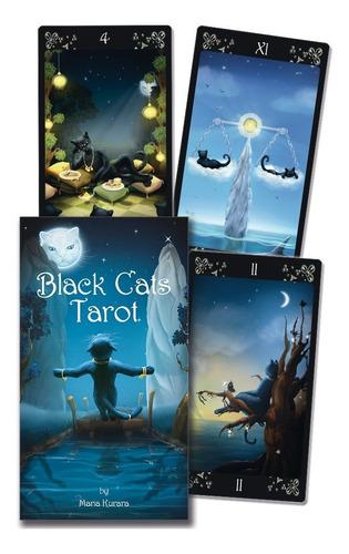 Imagen 1 de 6 de Black Cats Tarot, Tarot De Gatos Negros. Por Maria Kurara