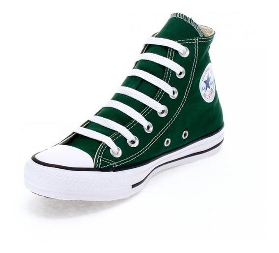 Tênis All Star Ct04190029 Verde Floresta - Original