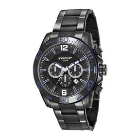 Relógio Speedo Masculino Ref: 24867gpevps2 Conógrafo Black