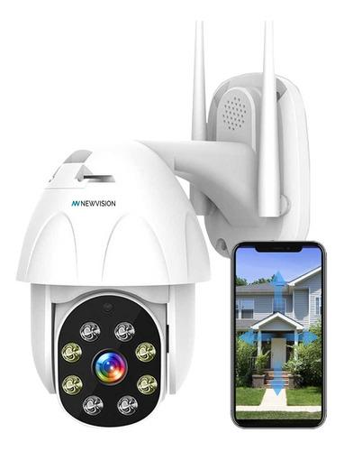 Imagen 1 de 10 de Camara Ip Exterior Wifi Domo Inalambrica Motorizada 1080p