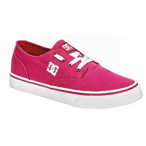 Tenis Dc Shoes Sneaker Flash Skate Niña Tex Fucsia 84937 Dtt