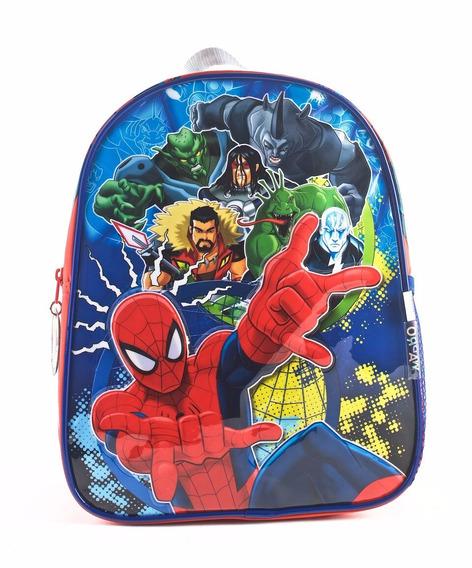 Mochila Spider-man Espalda 12 Pulgadas Original Wabro
