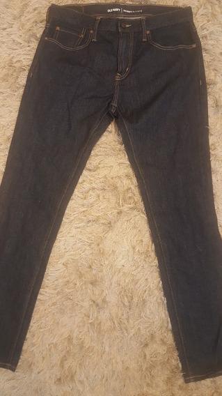 Calca Jeans Escura Old Navy 44 Nacional Ou 33 Usa Skinny