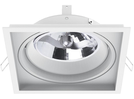 Spot Embutir Ar111 Recuado Branco Il 4730 Bmtx Interlight In
