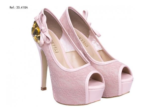 Salto Sapato Primavera-verão