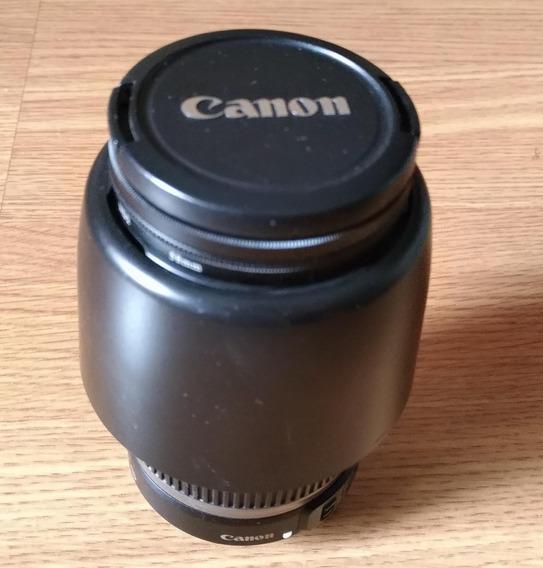 Lente 55-250mm Canon Estabilizador Fotografia Lente