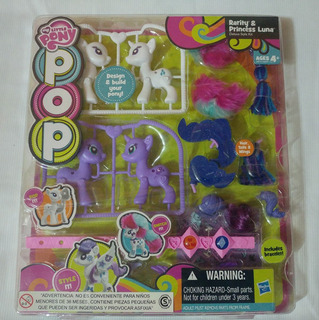 My Little Pony Pop Rarity Y Princess Luna Hasbro