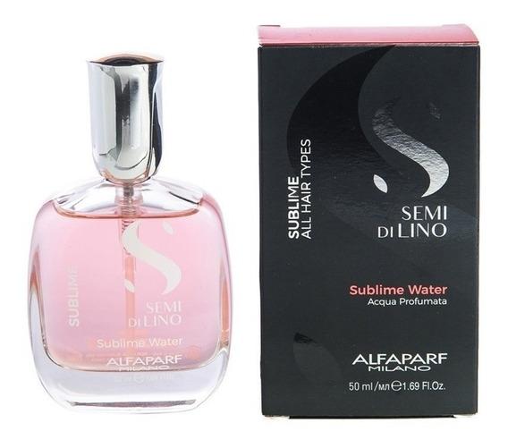 Alfaparf Semi Di Lino Sublime P/ Pelo Agua Perfumada 50 Ml