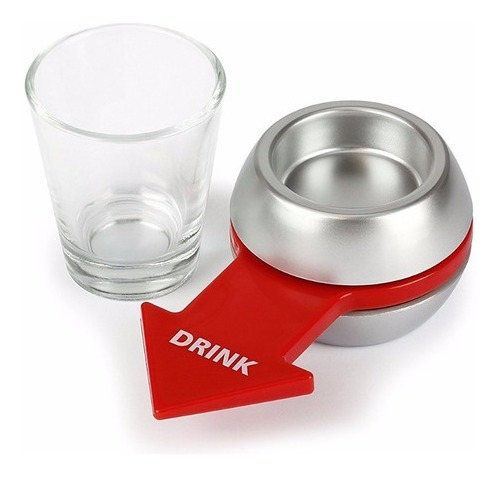 Shot Spinner + Copo Dose Tequila