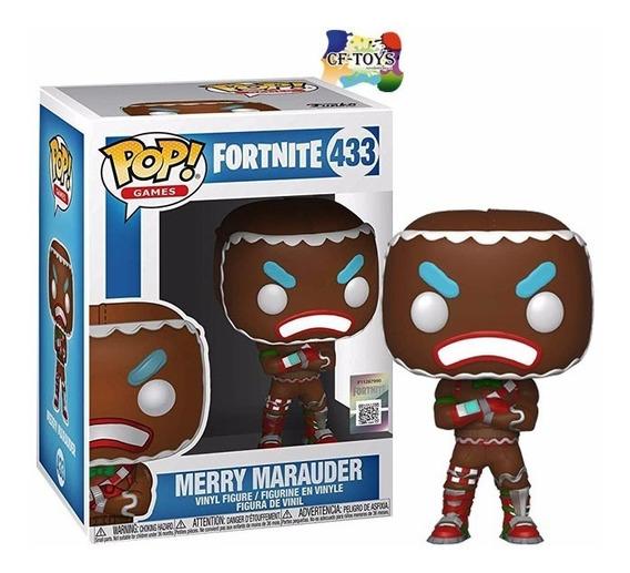 Merry Marauder Funko Pop Fortnite Galleta Videojuego Xbox Cf