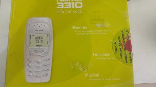 Celular Nokia Modelo 3310 - Com Carregador - Peças