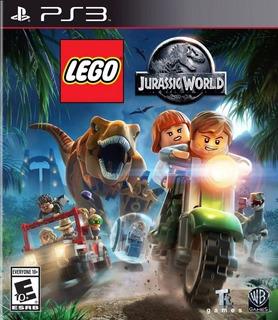 Lego Jurassic World Ps3 Psn Digital Pt Br Envio Imediato