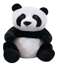 Urso Panda Sentado 45cm - Pelúcia