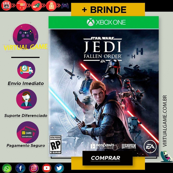 Star Wars Jedi: Fallen Order -jogo Xbox One - Midia Digital