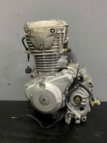 Motor Completo Honda Fan 160 3 Meses Garantia