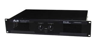 Potencia Gbr Bta200 Stereo 600w Pico 300w Rms Envio Gratis
