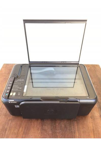 Impressora Wi-fi Multifuncional Hp Deskjet F4580 Jato Tinta