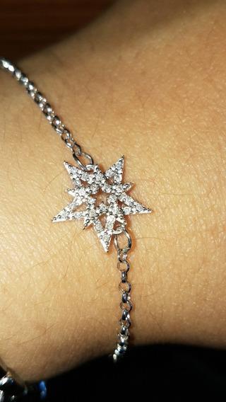 Pulseira Vivara Constelação Ouro Branco E Diamantes
