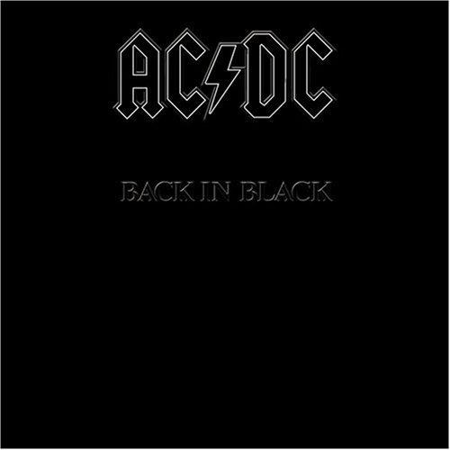 Lp Ac Dc Back In Black 180g Lp Importado Lacrado