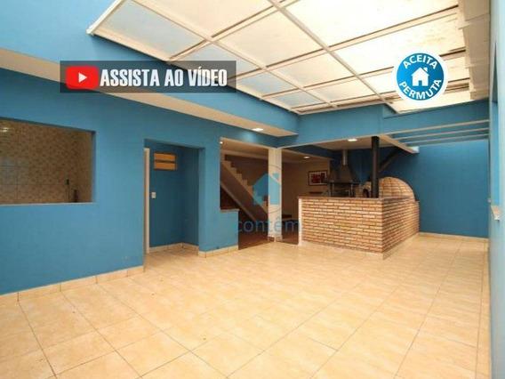 Ca0272- Casa Com 6 Dormitórios À Venda, 336 M² Por R$ 960.000 - Adalgisa - Osasco/sp - Ca0272