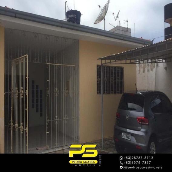 Casa Com 3 Dormitórios À Venda, 300 M² Por R$ 600.000 - Jardim Cidade Universitária - João Pessoa/pb - Ca0611