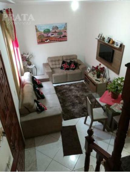 Vila Valença Sobrado Condomínio 2 Dorms, 3 Banh, 1 Vg Demarcada - V398386