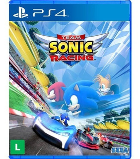 Jogo Team Sonic Racing - Ps4 - Playstation 4 Mídia Física