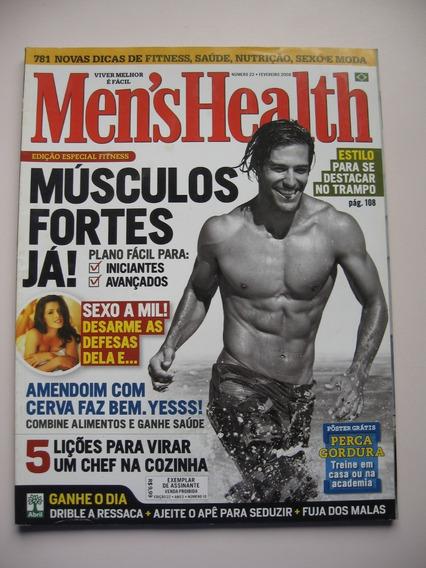 Revista Men´s Health - Nº 22 - Músculos Fortes Já!