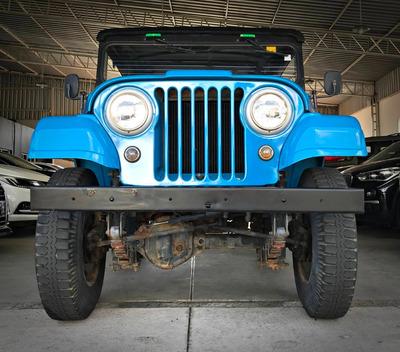 Ford Jeep Cj-5. Azul 1980/80
