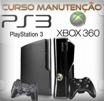 Curso Conserto E Reparo De Videogames Ps2/ps3/xbox 4 Dvds
