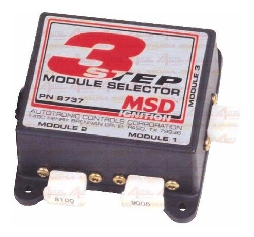 Msd 3step Modulo Seletor Rpm #8737 Cód.:01415
