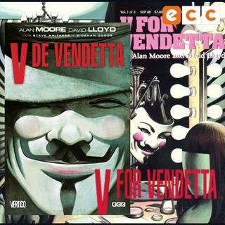 V De Vendetta -tomo Completo Ecc