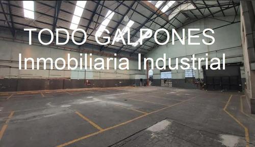 Galpón 1700m2 S/ 2 Calles Zonif: Mixt4 - Constitución