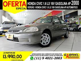 Civic 1.6 Lx 16v 2000