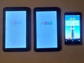 1 Celular ( LG K6 ) 2 ( Tablets Preto E Rosa)